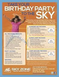 Sky Zone In Memphis Sky Zone Memphis Birthday Parties Sky Zone How To