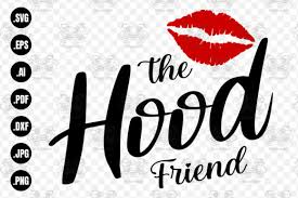 Size of this png preview of this svg file: The Hood Friend Svg Friends Svg Girl Graphic By Craftscreateshop Creative Fabrica