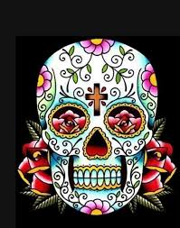27 best Skull Quilt Ideas images on Pinterest | Appliques ... & Queen Size Sugar Skull Quilt Custom by MamaJeansKindThreads, $375.00 Adamdwight.com