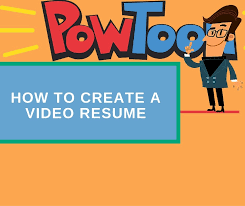 How to Create a Video Resume