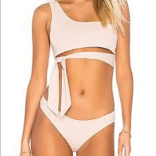 Tavik Wrap Bikini Top S And Minimal Bottoms M Nwt