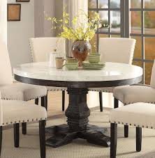 round marble kitchen table luxury awesome acme nolan white marble top round dining table