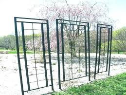 cast iron arbors black metal garden trellis high quality trellises 4 wrought large designs antique wro