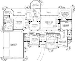 Great 5 Bedroom Ranch With Master On Opposite Side Of House From Rest Of The  Bedrooms. #newconstruction #floorplans