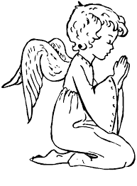 Print anime coloring pages for free and color our anime coloring! Pictures Of Angels To Color Coloring Home
