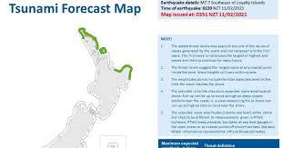 Tsunami telah dikonfirmasi, kata biro meteorologi australia dalam sebuah tweet rabu 10 februari 2021, 23:46 wib. C4s51cb5ngbxym