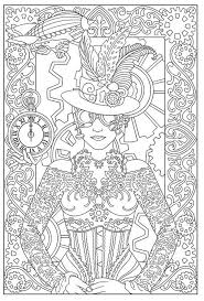 Small Picture 261 best Colorir steampunks images on Pinterest Coloring books