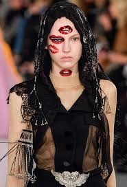 you have to see pat mcgrath s wild makeup at the maison margiela couture show