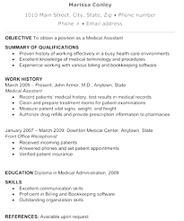 Medical Resume Template Free Unique Functional Resume Examples Medical Assistant Medical Resume 38