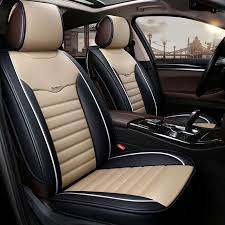 leather universal car seat cover car