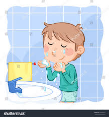 washing face clipart. Fine Face Comb Clipart Boy Washing Face And Washing Face Clipart W