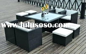 wicker outdoor dining set best outdoor dining table with regard to outdoor wicker dining table designs