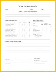 Medical Progress Note Template Counseling Notes Therapist