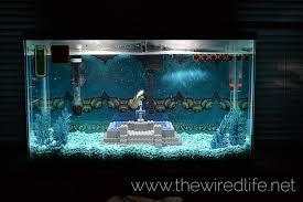 Mario Brothers Aquarium Decorations Watch A Super Mario Bros Aquarium Get Built From Scratch Kotaku