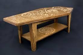 Coffin Designs Furniture Handmade Coffee Table Ideas Brown Coffin Rustic Unique