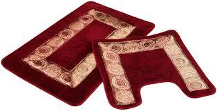 bright red bathroom rugs redom accessories ideas bath rug runner