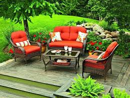 wicker patio furniture with red cushions red outdoor furniture incredible endearing patio