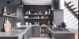 Superior Cuisine Gris Et Noir Grise Nos Plus Belles Inspirations Marie Claire