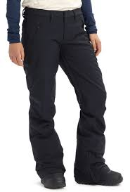 Burton Society Tall Womens Snowboard Ski Pants M Black