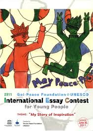 Peace essay contest   Thesis statement compare and contrast      A Commonwealth for Peace
