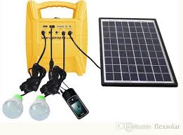 10w Portable Off Grid Small Solar Power System For Home Lighting Solar Powered Lighting Kits