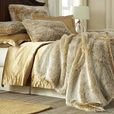 faux fur duvet cover uk bedding were not sure where the line between luxury and pure decadence is but its probably covered