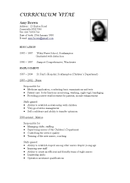 Examples Of Resumes Resume Example Good Action Words Information