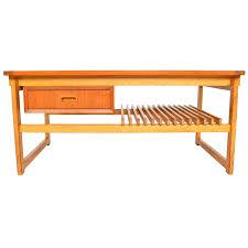 modern oak coffee table modern teak and oak coffee table with storage for modern oak coffee table