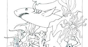 Coloring Pages Ocean Creatures Ocean Creatures Coloring Pages Ocean