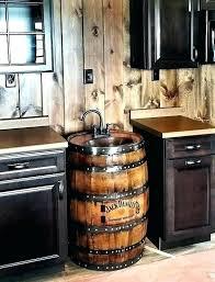 whiskey barrel sink barrel sink wooden barrel bathroom sink whiskey barrel sink hammered copper rustic antique whiskey barrel sink wine barrel vanity