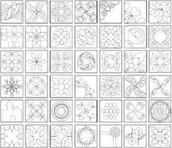 The Quiltmakers Collection Vol 1 Printable Quilting Stencils ... & The Quiltmakers Collection Vol 1 Printable Quilting Stencils Adamdwight.com