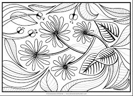 Free Printable Coloring Pages Flowers Flower Coloring Sheets Plus