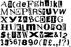 ransom letter generator fontscape home handmade ransom note