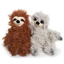 cute cuddly fuzzy sloth plush 12in