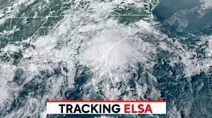 Track Elsa: Tropical storm, flash flood ...