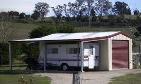 fair um garage with garaport and lean to