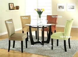 white glass dining table set glass kitchen table sets modern round dining table set glass dining