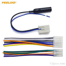 2019 feeldo car audio stereo wiring harness plug antenna 2019 feeldo car audio stereo wiring harness plug antenna adapter for toyota scion factory oem radio cd dvd stereo 3186 from feeldo 7 36 dhgate com