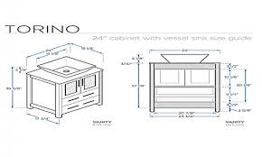 Dimensions Of Kitchen Cabinets Standard Bathroom Vanity Cabinet Dimensions Bathroom