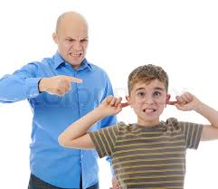 Image result for dad and son angry face