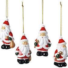 Christbaumschmuck Weihnachtsbaumanhänger Weihnachtsmänner