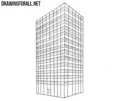 architectural drawings of skyscrapers. Simple Skyscrapers Skyscraper Drawing On Architectural Drawings Of Skyscrapers
