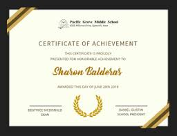 High School Diploma Certificate Fancy Design Templates Customize 920 Graduation Templates Postermywall