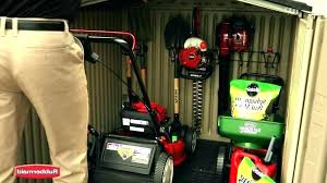 riding lawn mower storage outside lawn mower storage riding lawn mower storage shed portable storage sheds