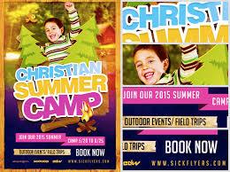 Christian Summer Camp Flyer Template Flyerheroes