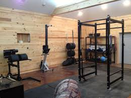 this is probably not a garage gym but itu0027s very cool gym ideas9