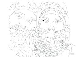 Turn Your Photos Into Coloring Pages At Getdrawingscom Free For
