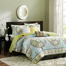 spruce up your bedroom with this pretty six piece coverlet set this lovely ensemble