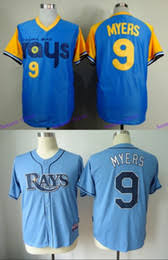 cheap blue clocks online cheap blue clocks for new stitched baseball jersey tampa bay rays 9 wil myers baby blue 1988 turn back the clock men s sports shirts cheap