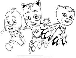 Pj Masks Super Pigiamini Disegni Da Colorare Con Immagini Super